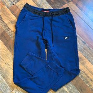 Nike joggers.